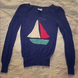 Navy sweater from urban outfitters
